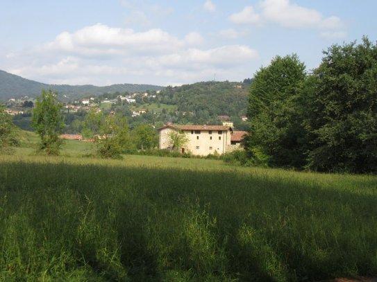La sede del parco dei colli di Bergamo a Valmarina