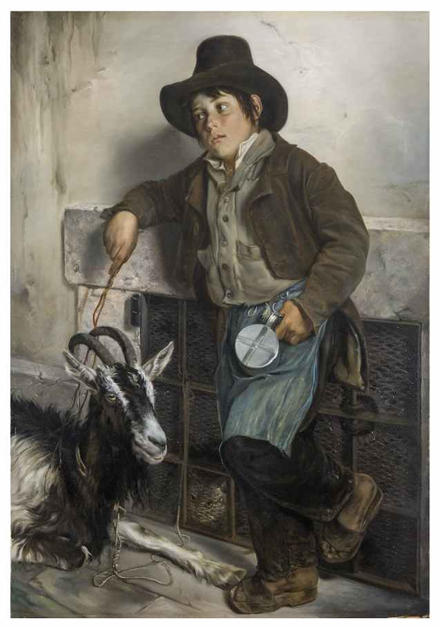molteni-street-urchin-with-goat-selling-milk